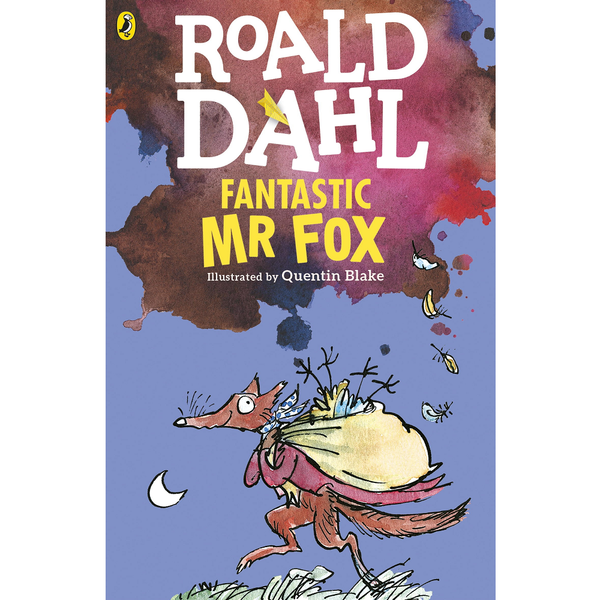 Roald Dahl Fantastic Mr. Fox book quentin blake canada ontario purple