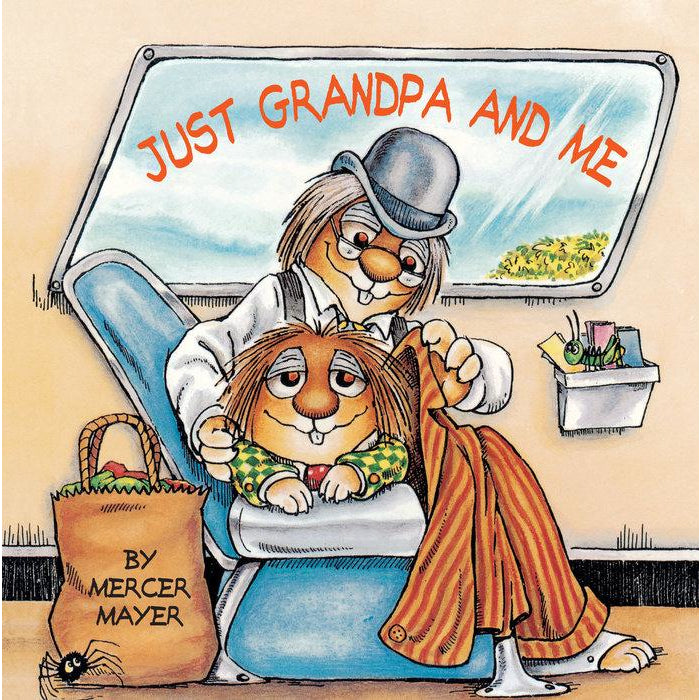 Little Critter: Just Grandpa and Me Book