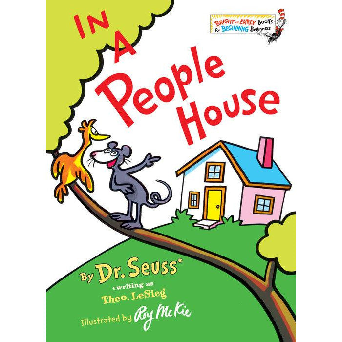 Dr. Seuss In a People House Book canada ontario