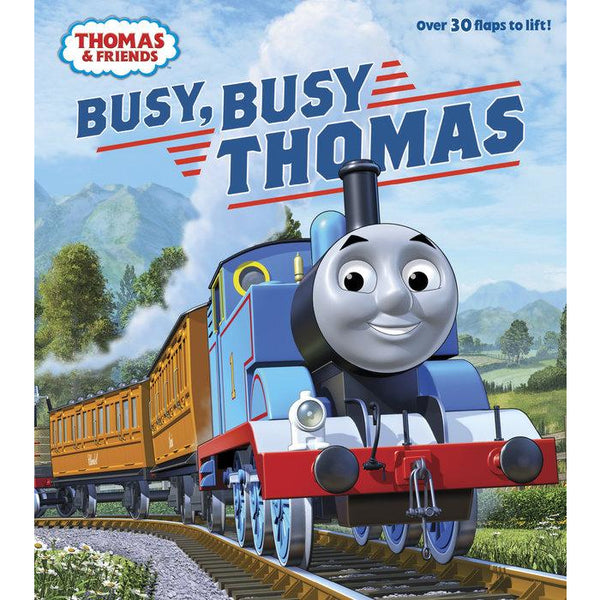 Busy Busy Thomas Board Book