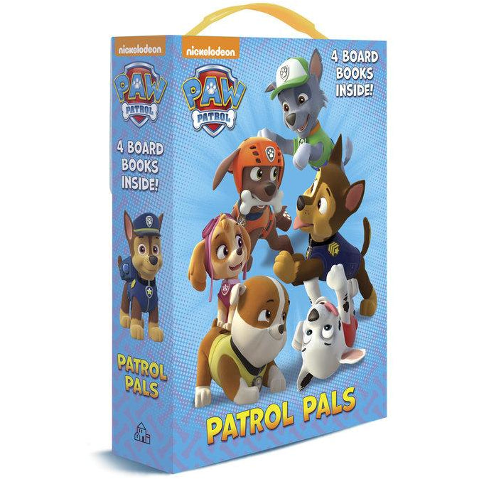 Paw Patrol Patrol Pals Set of 4 Board Books canada