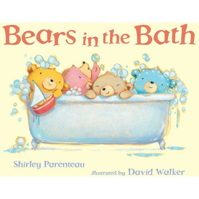 Bears in the Bath Board Book