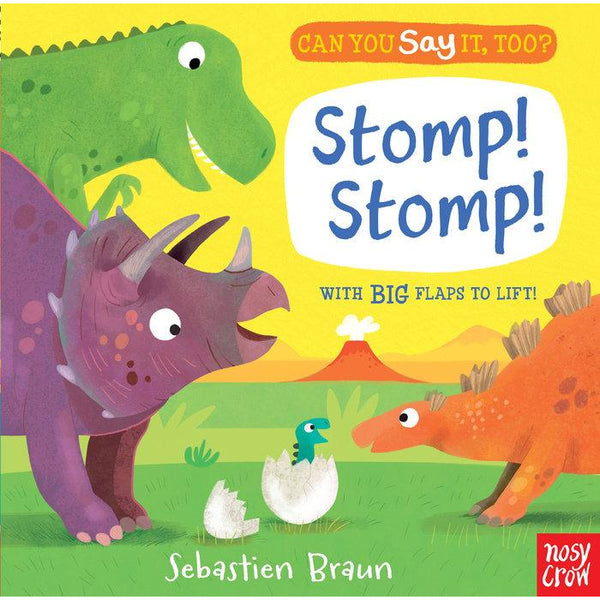 Can You Say It Too? Stomp Stomp Board Book