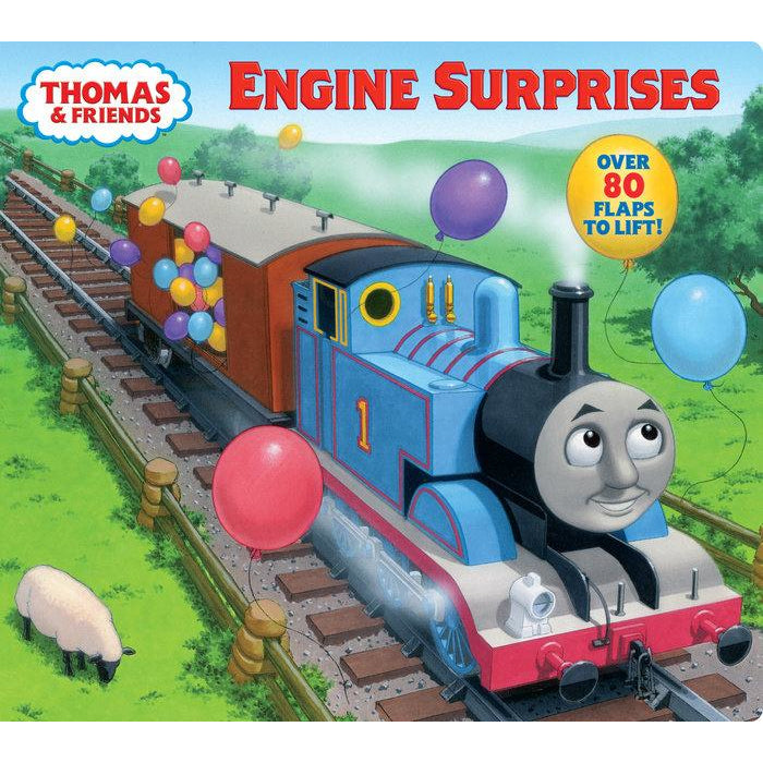 Thomas & Friends Engine Surprises Board Book canada