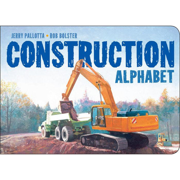 Construction Alphabet book jerry pallotta