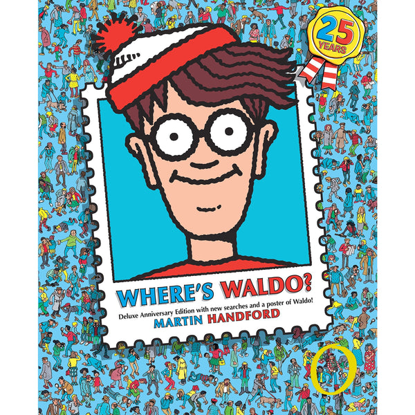 Where's Waldo? Deluxe Edition ISBN 9780763645250 canada ontario blue
