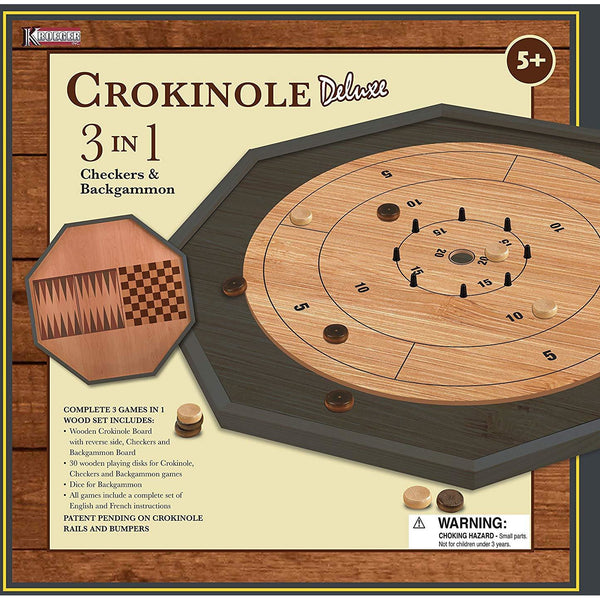Crokinole Board Deluxe 3 in 1 kingston ontario canada