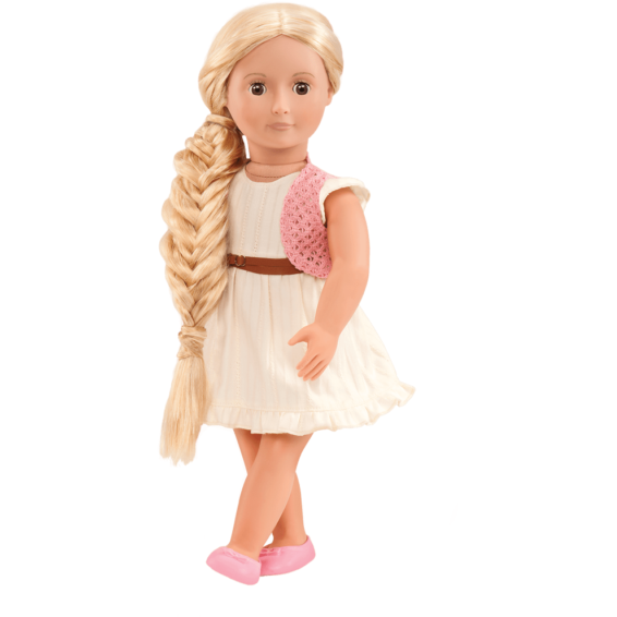 "Our Generation 18"" Phoebe Hairgrow Doll"