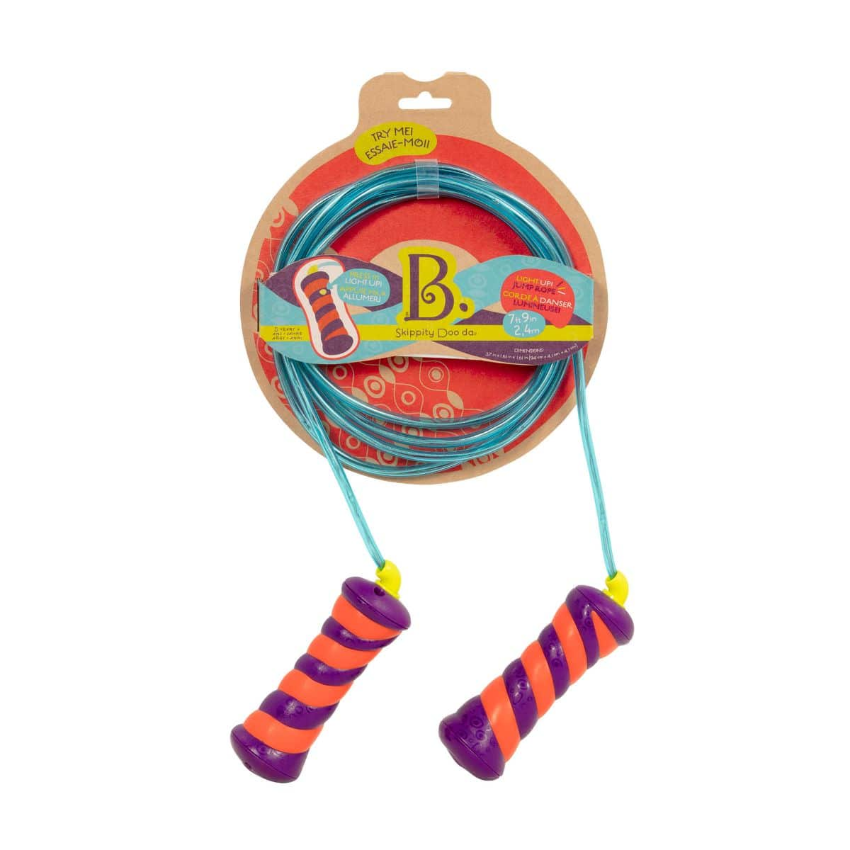 B. Toys Light Up Skippity Doo Da Jump Rope