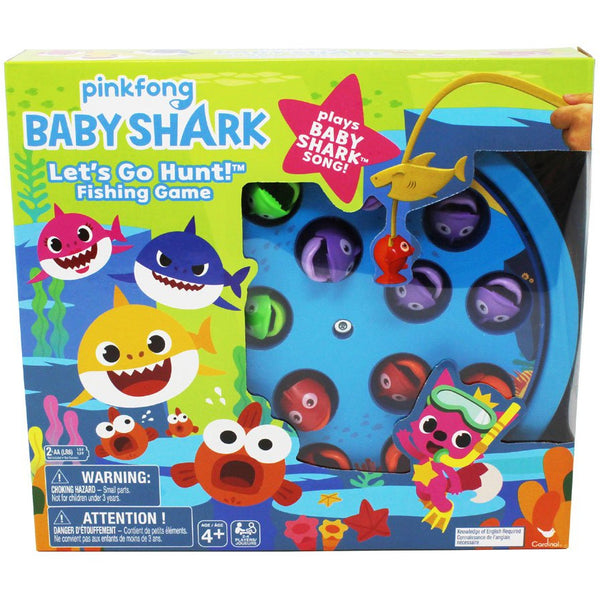 Baby Shark Fishing Game canada ontario let's go hunt pinkfong