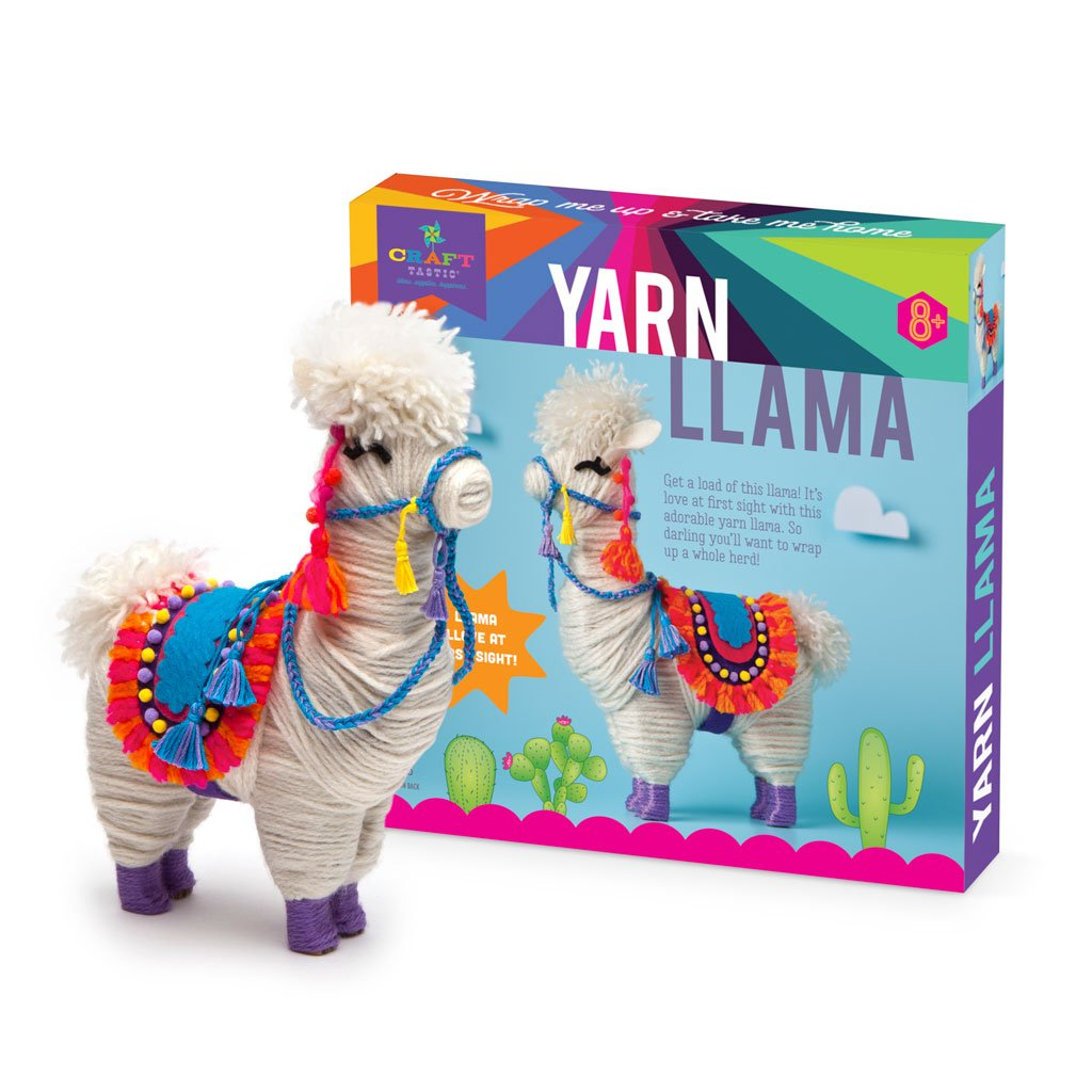 Ann Williams Yarn Llama canada ontario craft