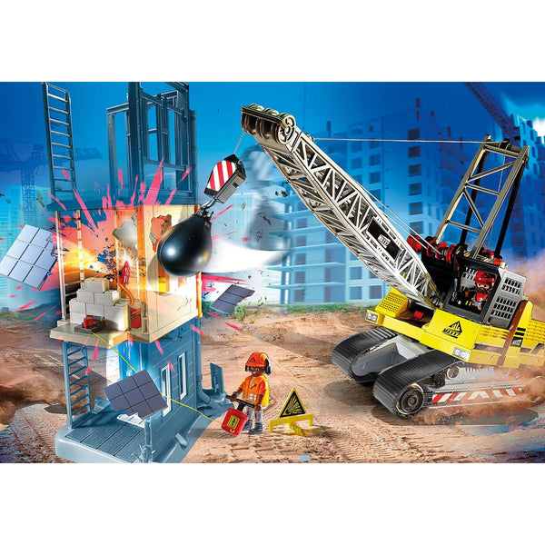 Playmobil City Action Cable Excavator with Building Section 70442 canada ontario