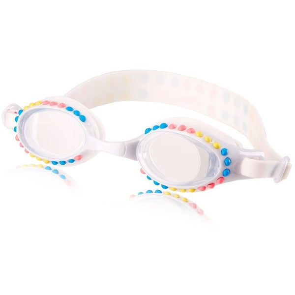 Bling2o Candy Dots Swim Goggles White