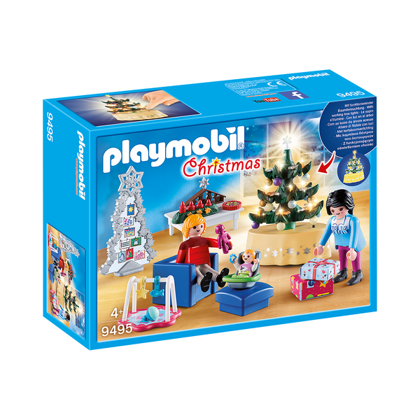 Playmobil Christmas Living Room 9495 canada ontario