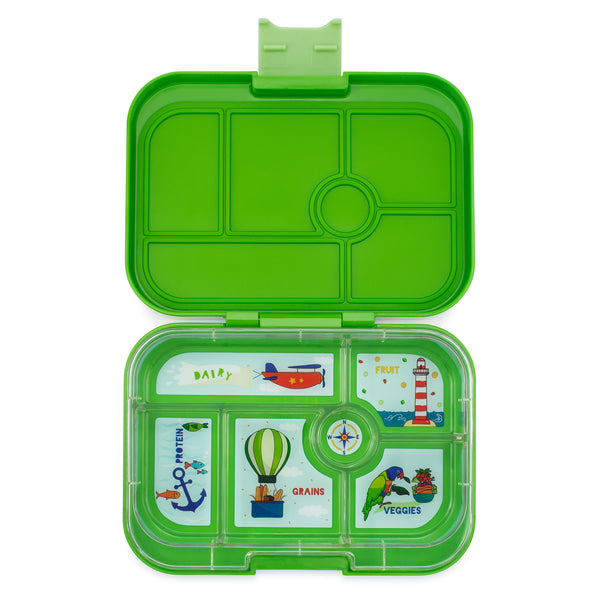 Yumbox Original 6 Compartment Cilantro Green canada ontario