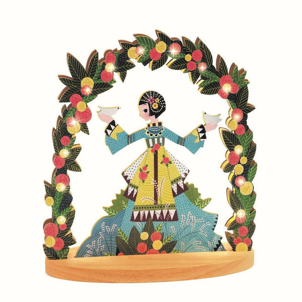 Djeco Wooden Night Light Miss Doves canada ontario