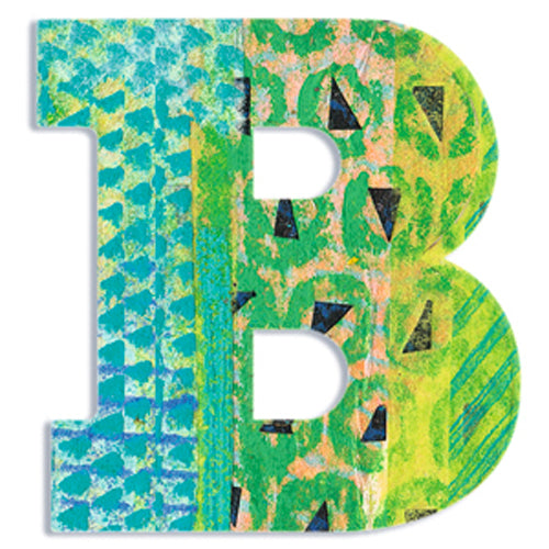 Djeco Peacock Wooden Letter B canada ontario