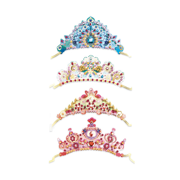 Djeco Do It Yourself Mosaic Tiaras Like A Princess canada ontario