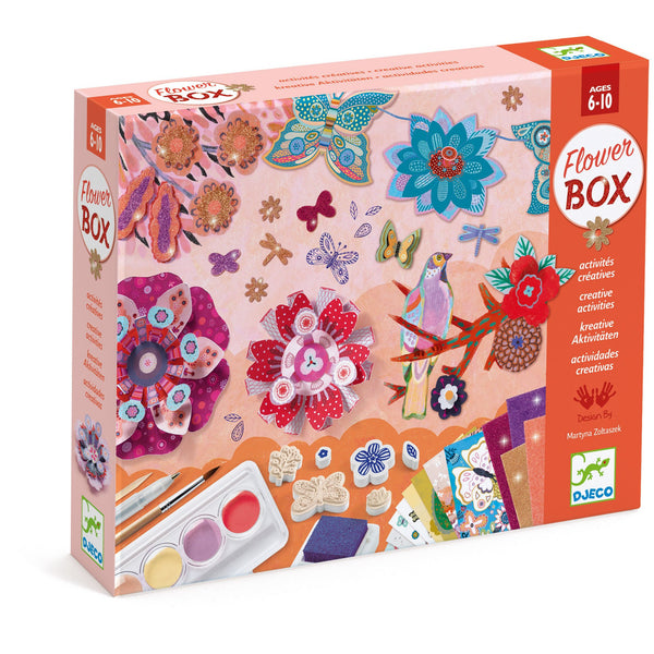 Djeco Multi-Activity Kit Flower Garden canada ontario