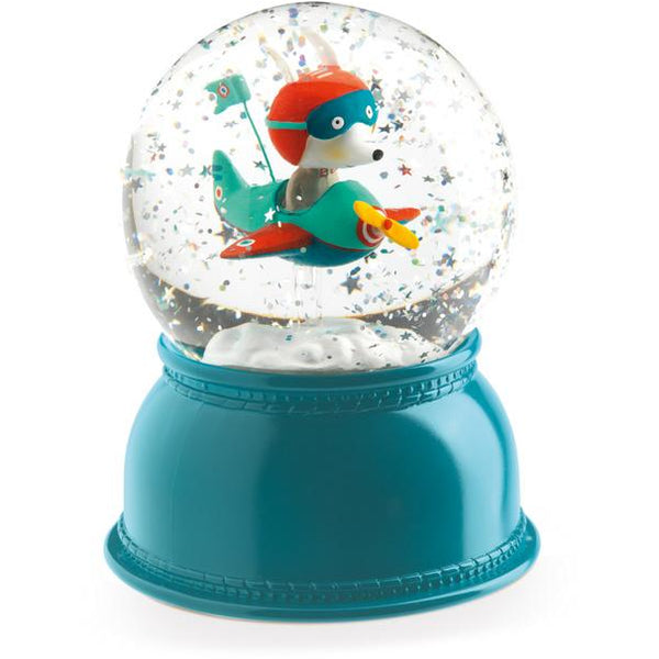 Djeco Snowglobe Nightlight Airplane