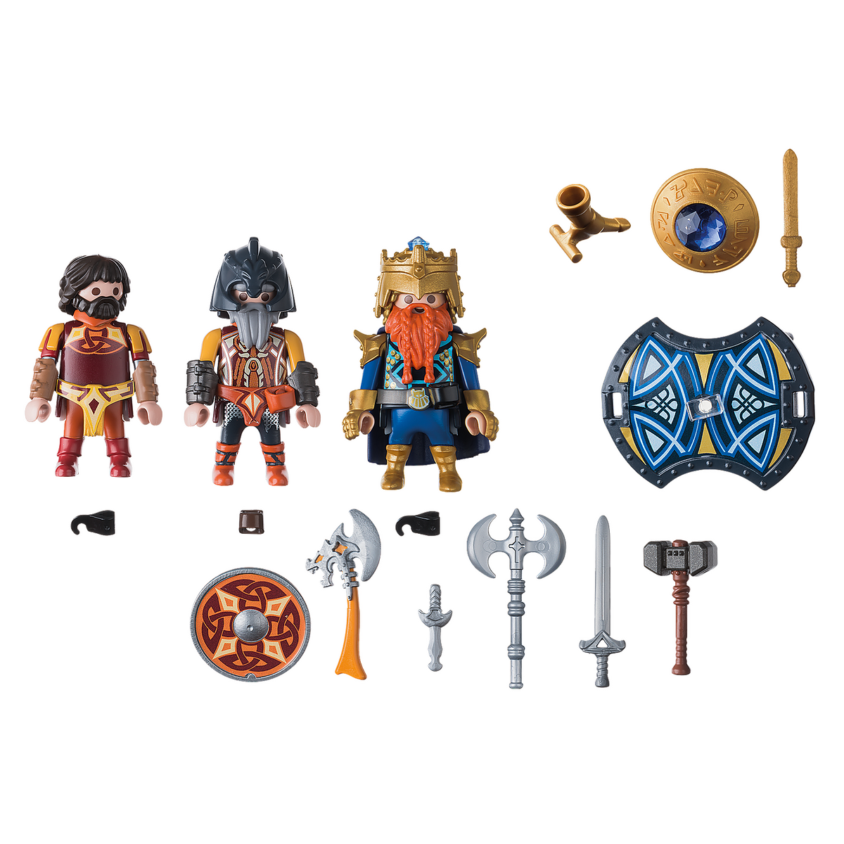 Playmobil Knights Dwarf King with Guards 9344 canada ontario