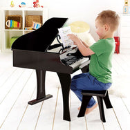 Hape Deluxe Grand Piano Black