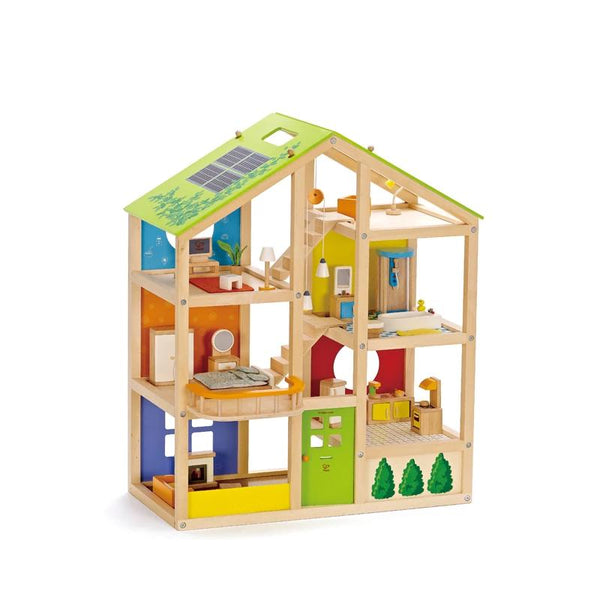 Hape All Season House (Furnished) 3401 e3401 canada ontario doll
