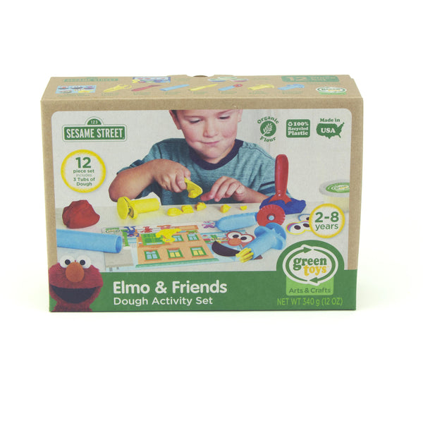 Green Toys Elmo & Friends Dough Activity Set