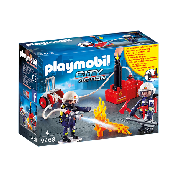 Playmobil City Action Firefighters with Water Pump 9468 canada ontario