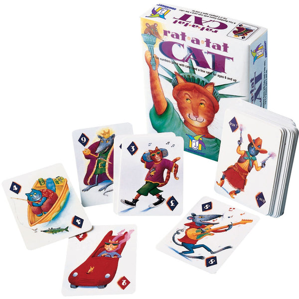 Gamewright Rat-a-Tat Cat Card Game canada ontario