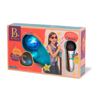 B. Toys Microphone with Stand b mic it shine canada