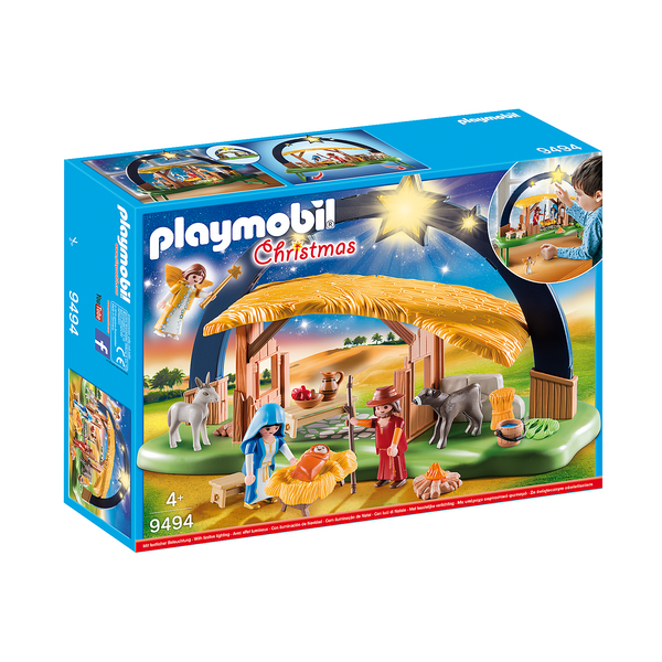 Playmobil Christmas Illuminating Nativity Manger 9494 canada ontario