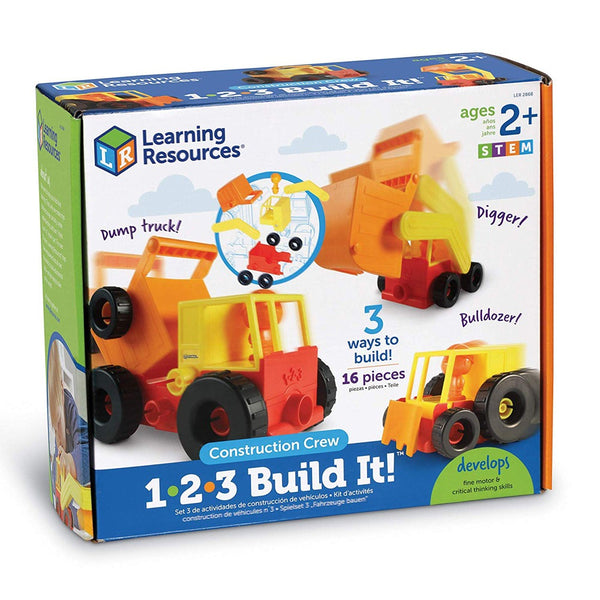 Learning Resources 1-2-3 Build It! Construction Crew canada ontario