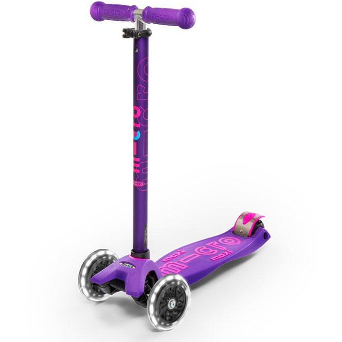 Maxi Micro Deluxe LED Scooter Purple