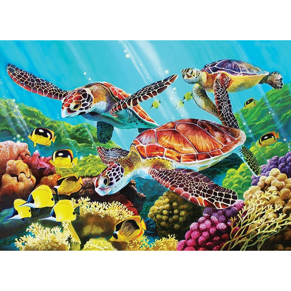 Cobble Hill Family Jigsaw Puzzle 350 Piece Molokini Current canada ontario 54610