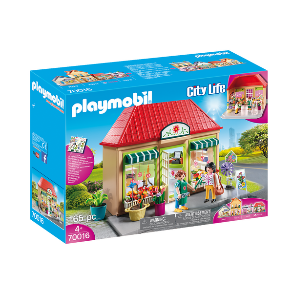 Playmobil City Life My Flower Shop 70016 canada ontario toy