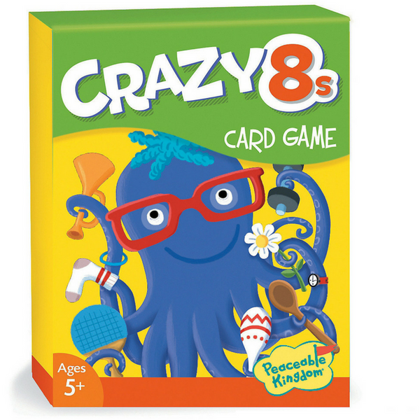 Peaceable Kingdom Crazy Eights