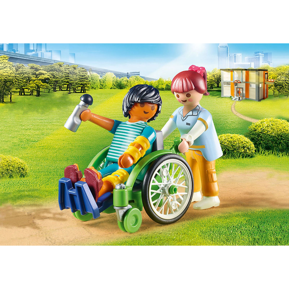 Playmobil City Life Patient in Wheelchair 70193 canada ontario