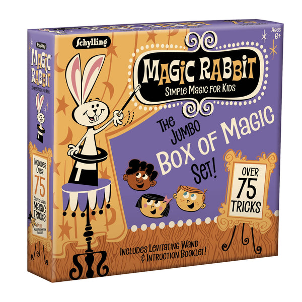 Magic Rabbit Jumbo Box of Magic Tricks canada ontario