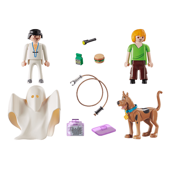 Playmobil Scooby-Doo Scooby & Shaggy with Ghost 70287 canada ontario