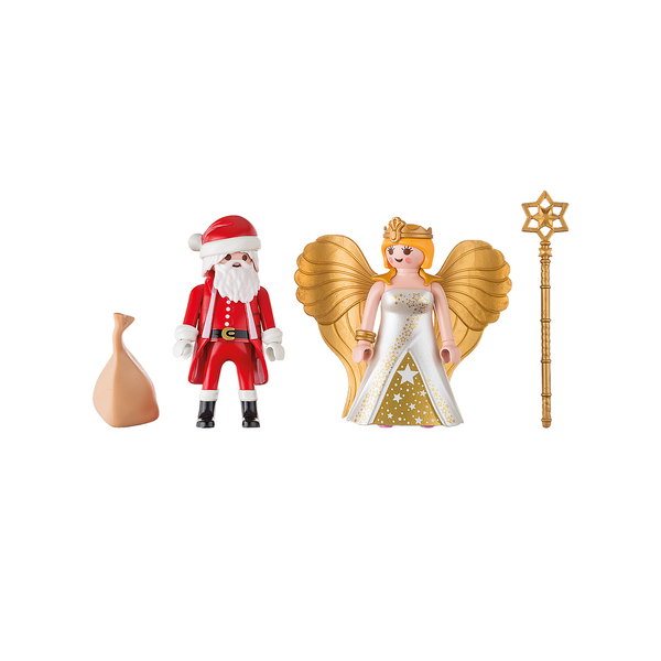 Playmobil Christmas Santa and Christmas Angel 9498 canada ontario