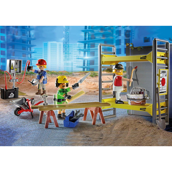 Playmobil City Action Scaffolding with Workers canada ontario 70446