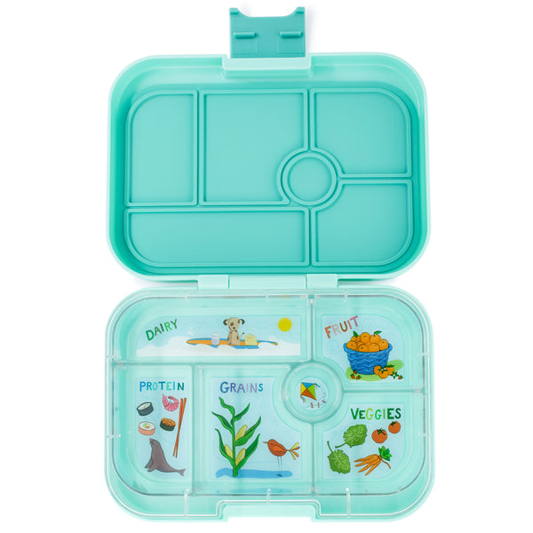 Yumbox Original 6 Compartment Surf Green canada ontario