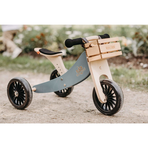 Kinderfeets Wooden Bike Crate