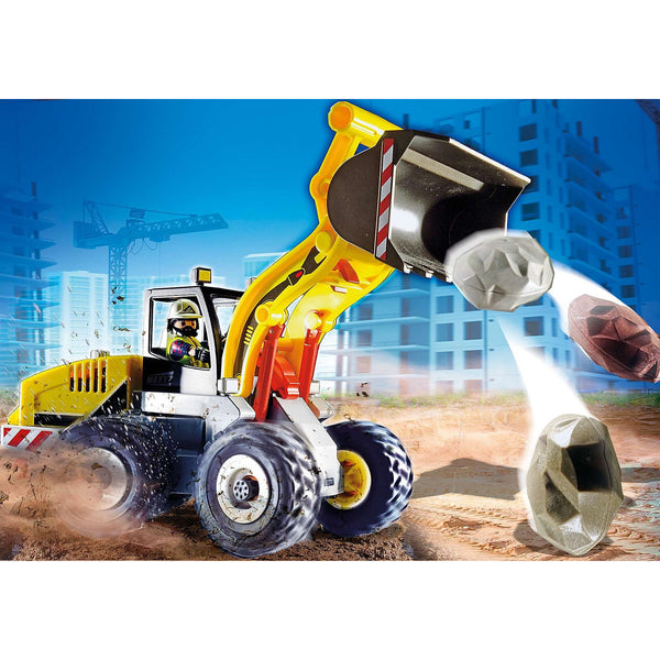 Playmobil City Action Wheel Loader 70445 canada ontario