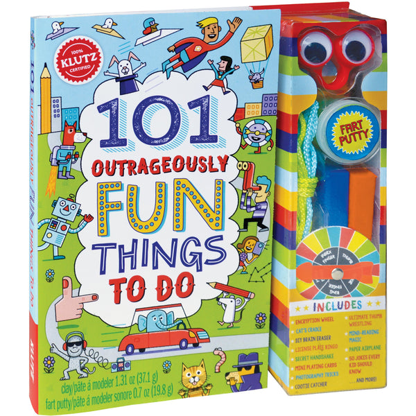 Klutz 101 Outrageously Fun Things To Do activity book canada ontario