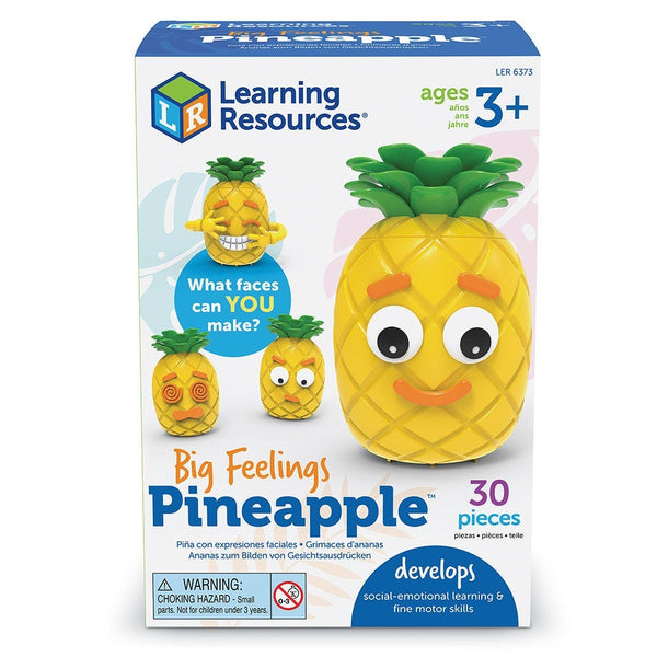 Learning Resources Big Feelings Pineapple emotional intelligence