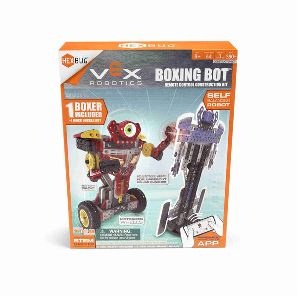 VEX Balancing Boxing Bots by HEXBUG robotics steam stem stream canada ontario