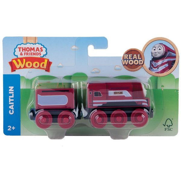 Thomas & Friends Wooden Train Caitlin Engine canada ontario