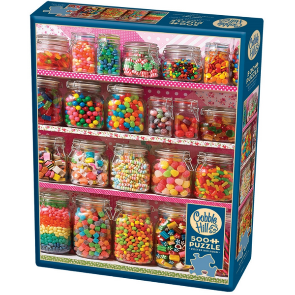 Cobble Hill Jigsaw Puzzle 500 Piece Candy Shelf 85011 canada ontario